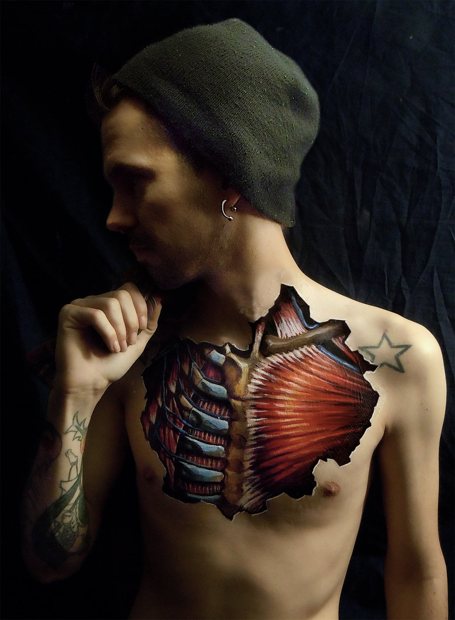 chest anatomy by danny quirk