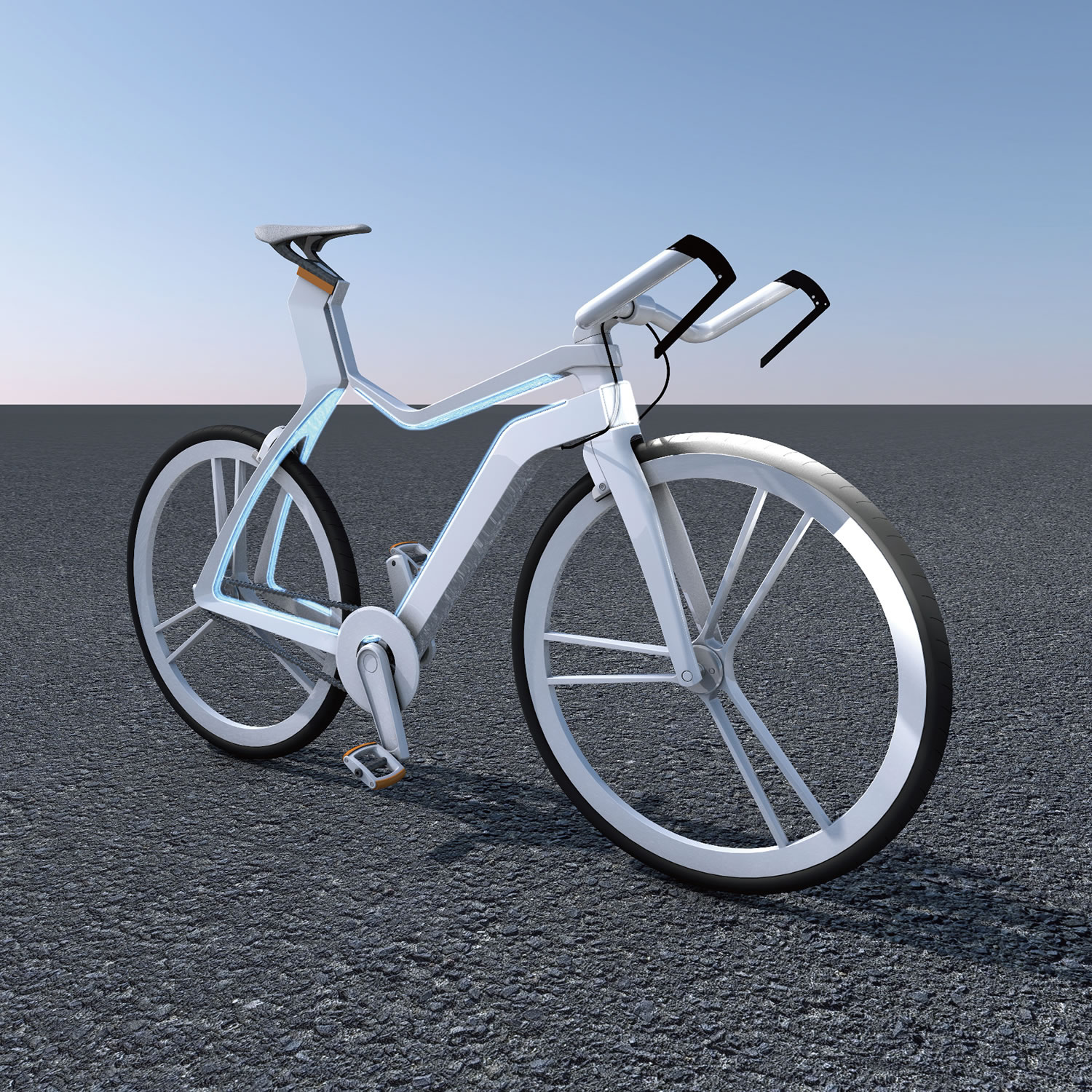 SILENCE, A BIKE WITH SENSORY ORGAN Electric Bicycle by YI-SIN HUANG