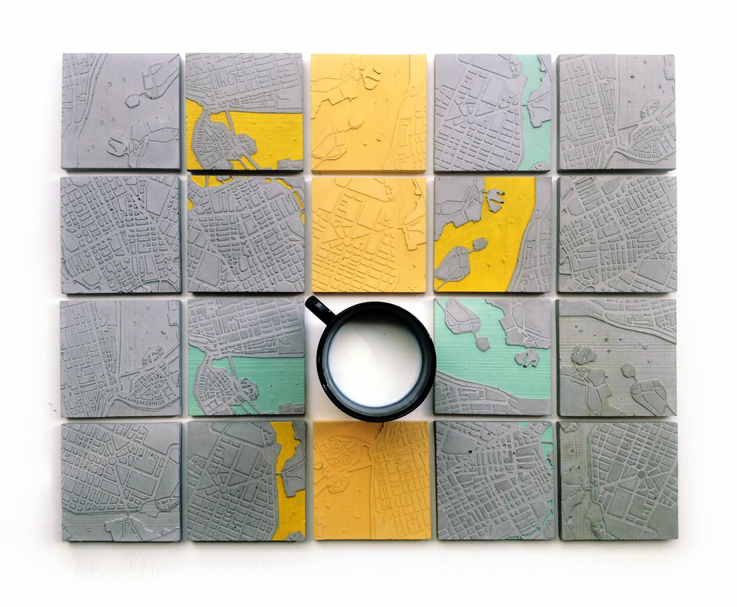 """The Concrete Cities Coasters"" by A Future Perfect."