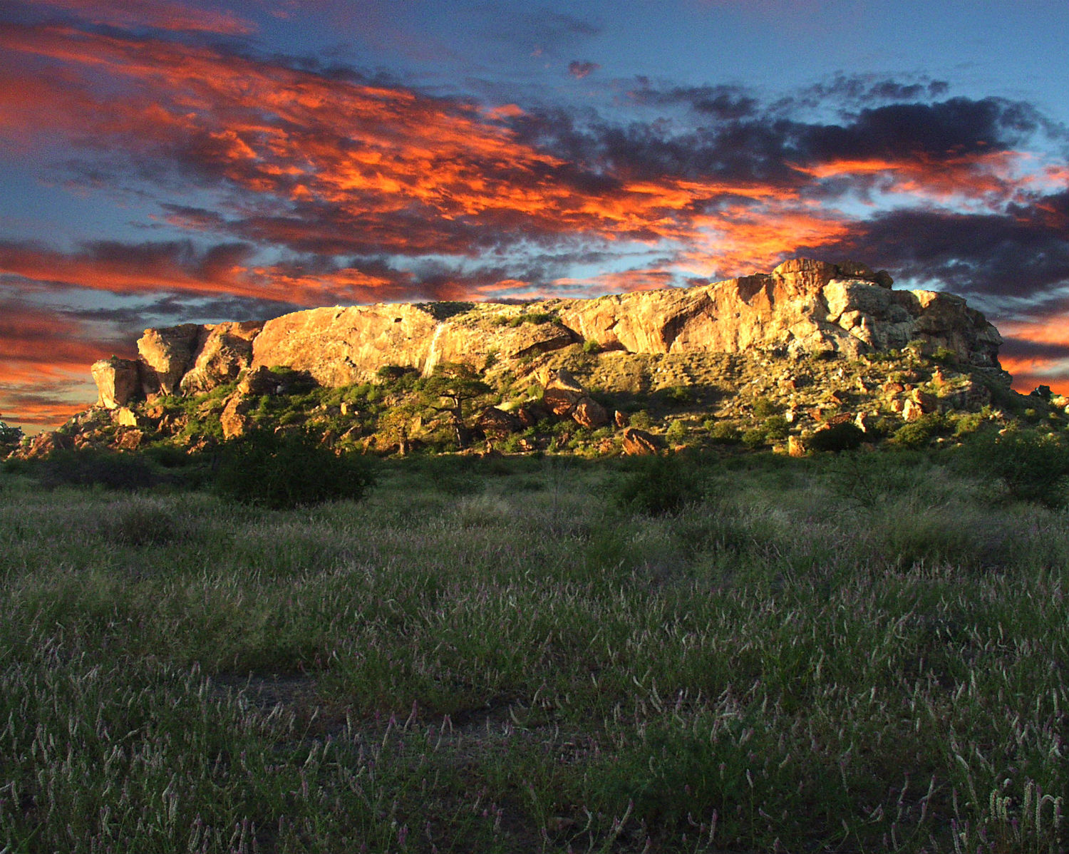 Mapungubwe National Park africa sunset