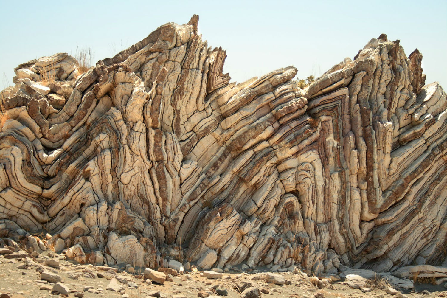 rock formations desert