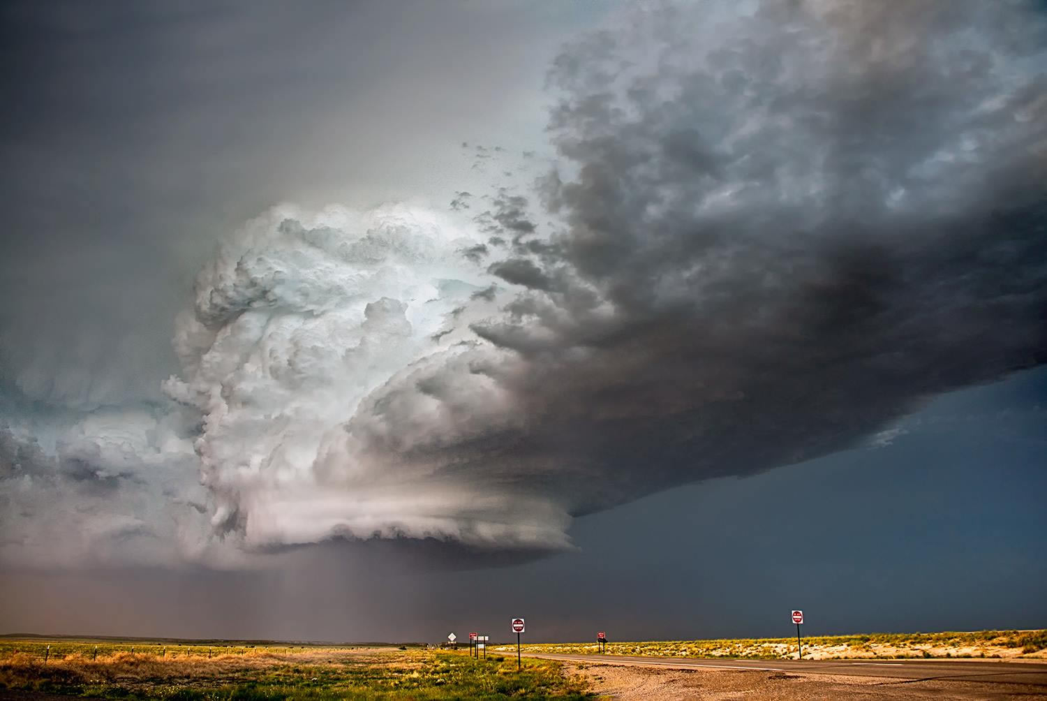 massive storm, grey, by Jody Miller
