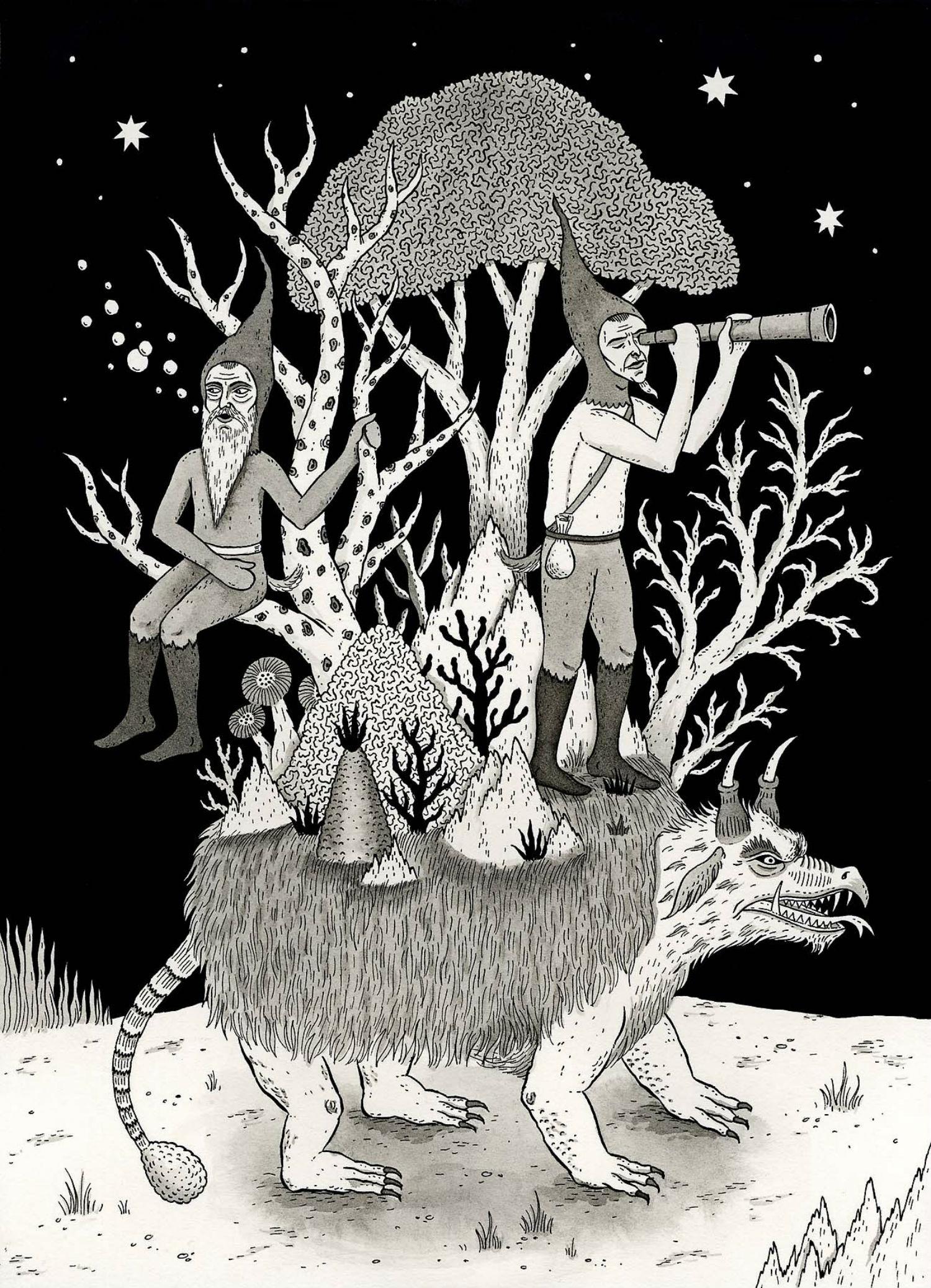 jon mcnair illustration