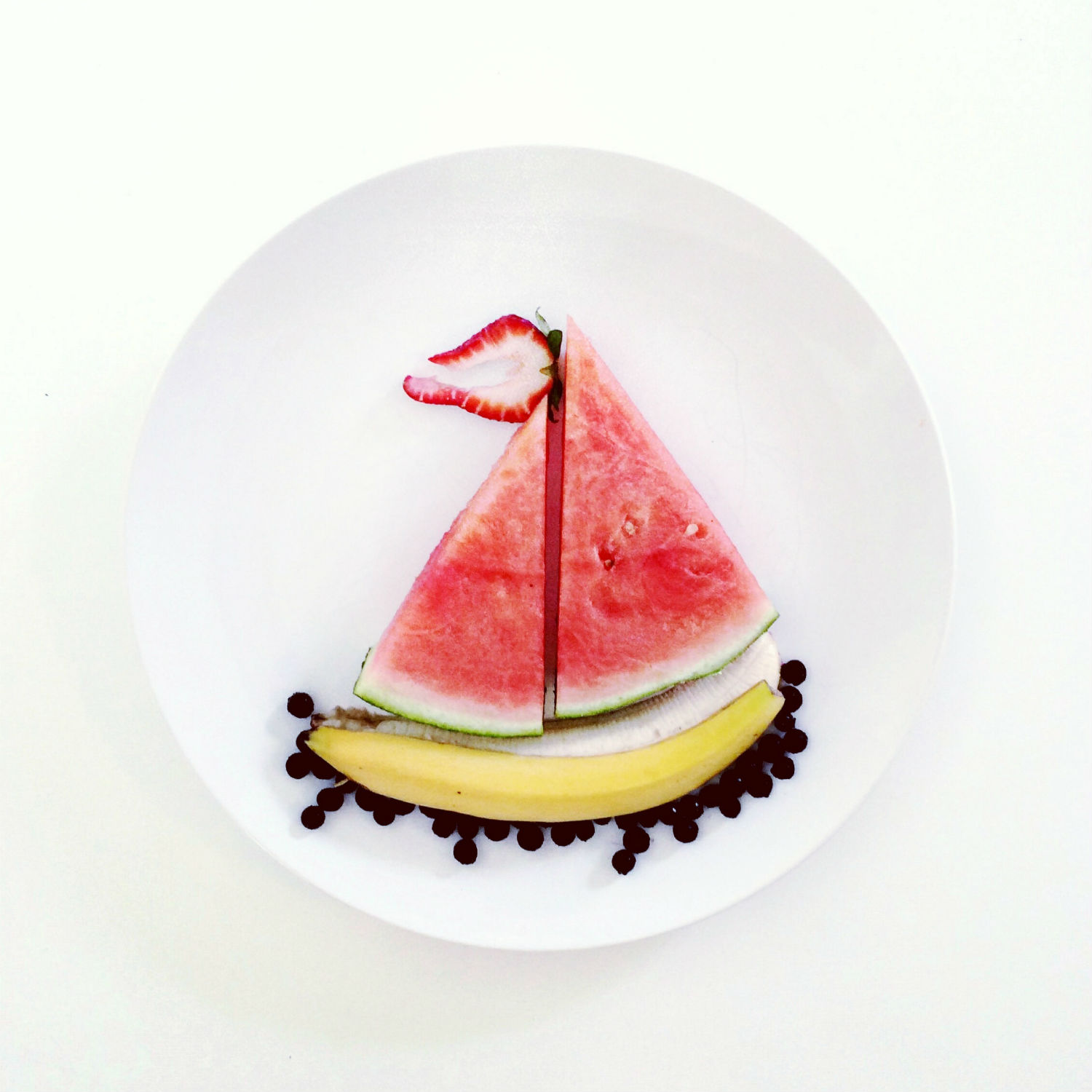 lauren purnell watermelon boat art culinary
