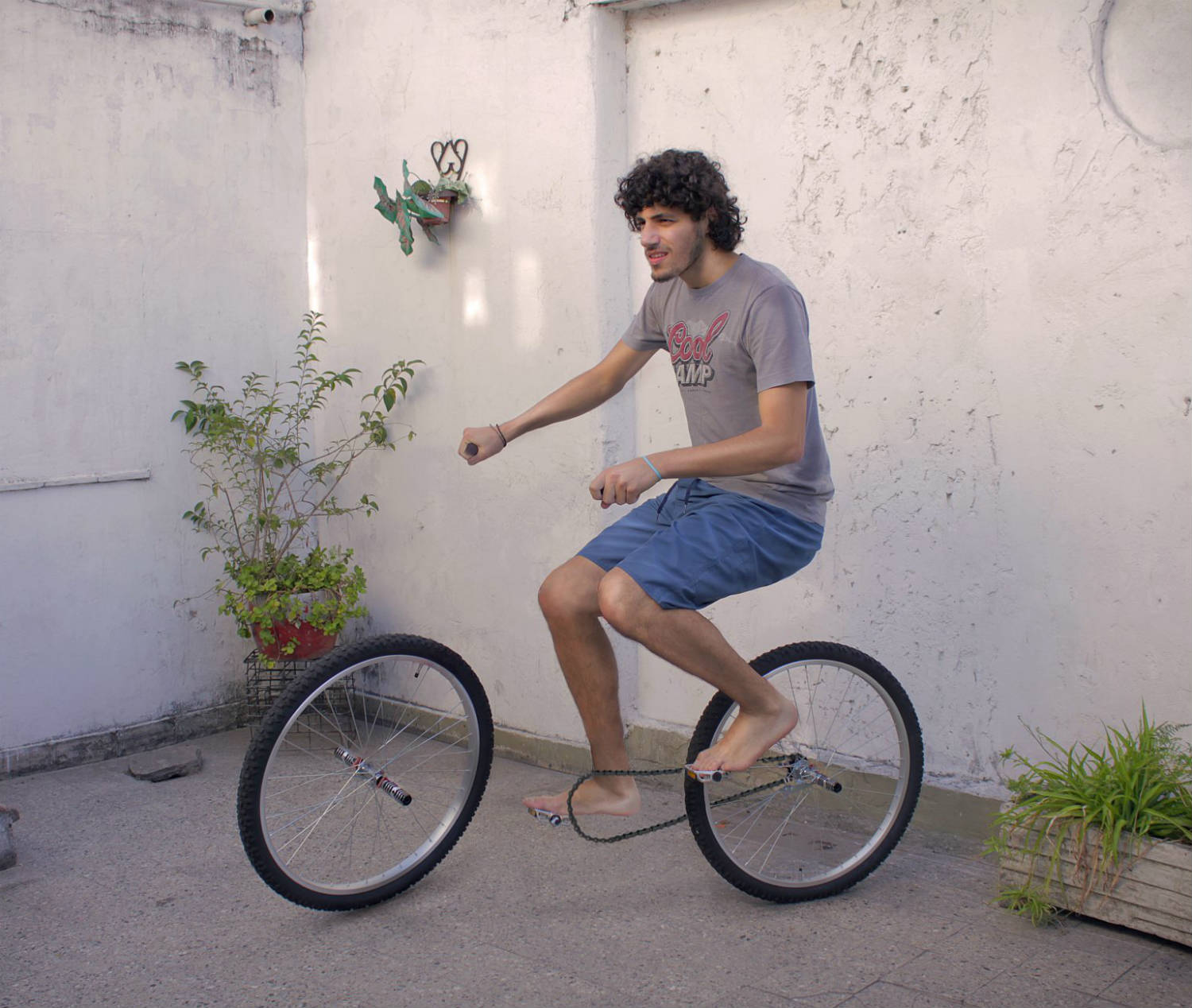 Martín De Pasquale illusion bicycle