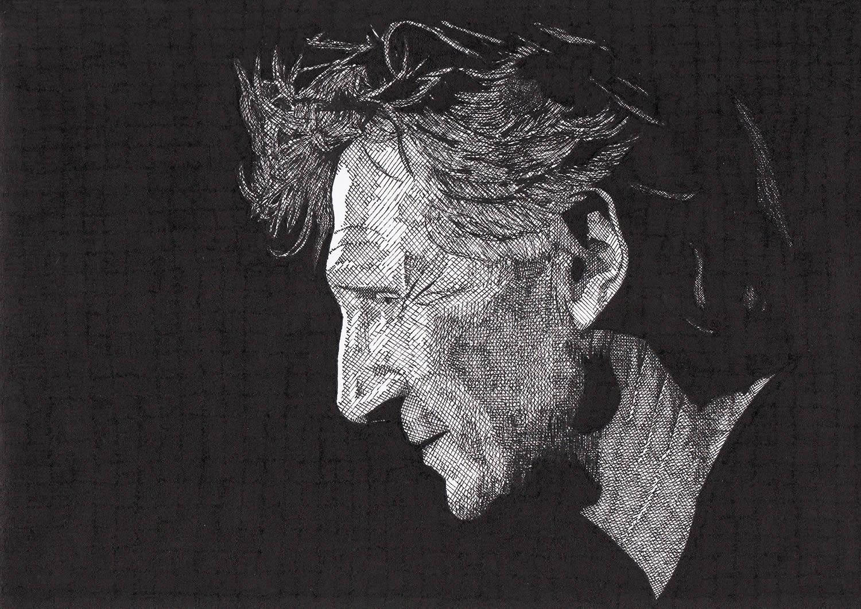 liam neeson portrait by rik reimert