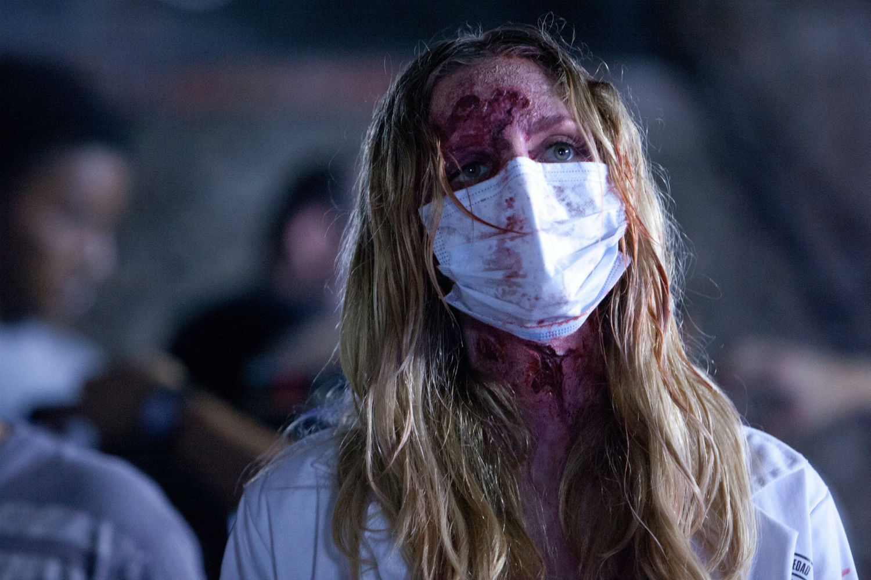 cabin fever patient zero mask horror