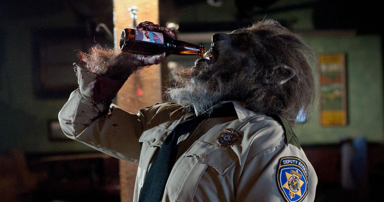 wolf cop horror beer
