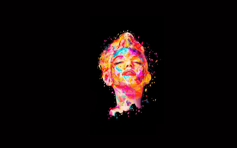 marilyn monroe Alessandro Pautasso digital art colour graphic