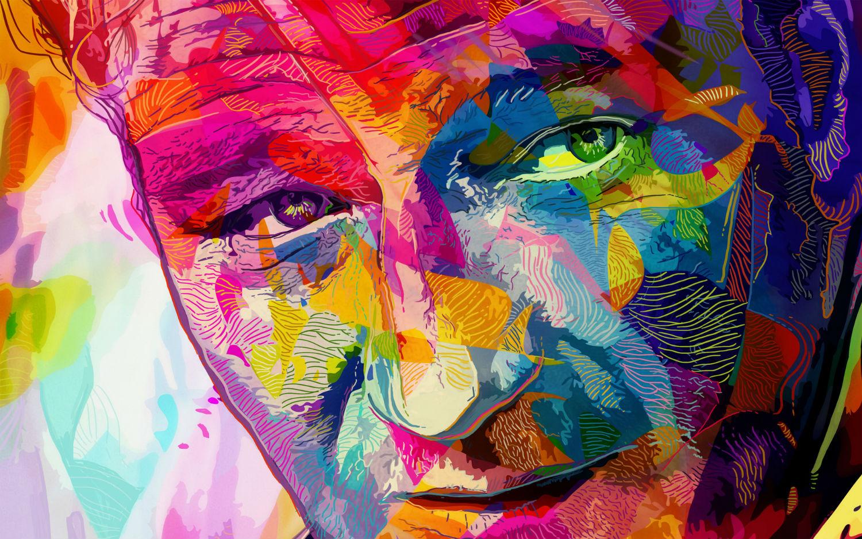 Alessandro Pautasso digital art colour graphic paul newman