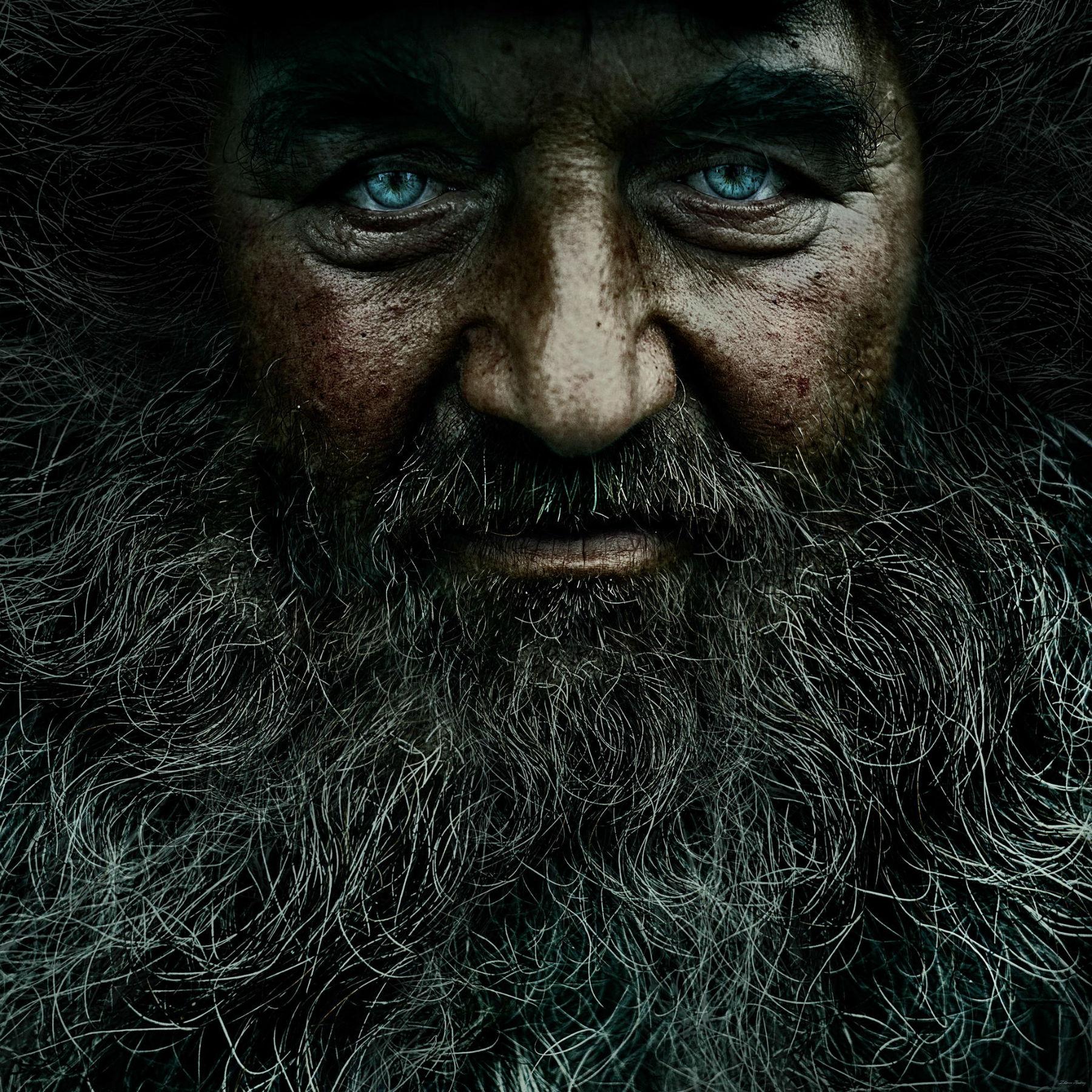 Andrey Zharov bearded photo realist photography portrait