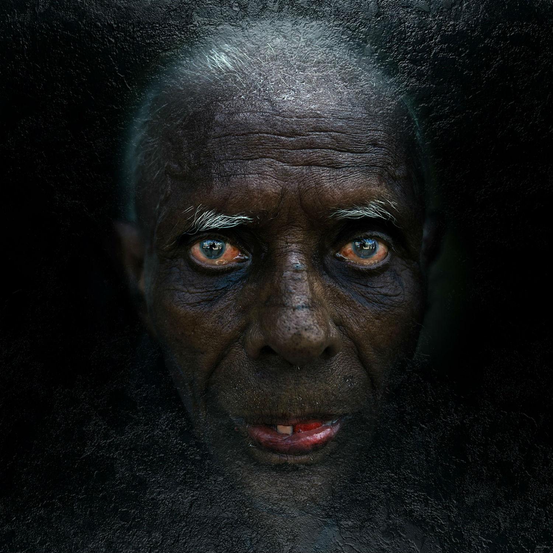 Andrey Zharov photo realist photography portrait indian man
