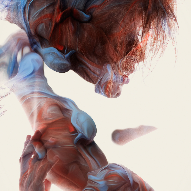 woman in cloud liquid, Trivial Expose by alberto seveso