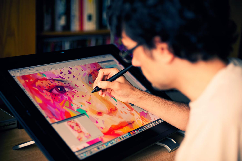 Alessandro Pautasso digital art colour graphic