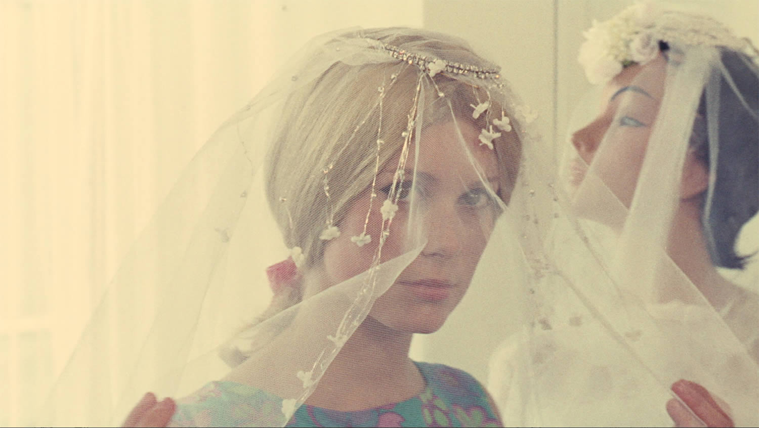 catherine deneuve getting ready to be a wedding bride, The Umbrellas of Cherbourg