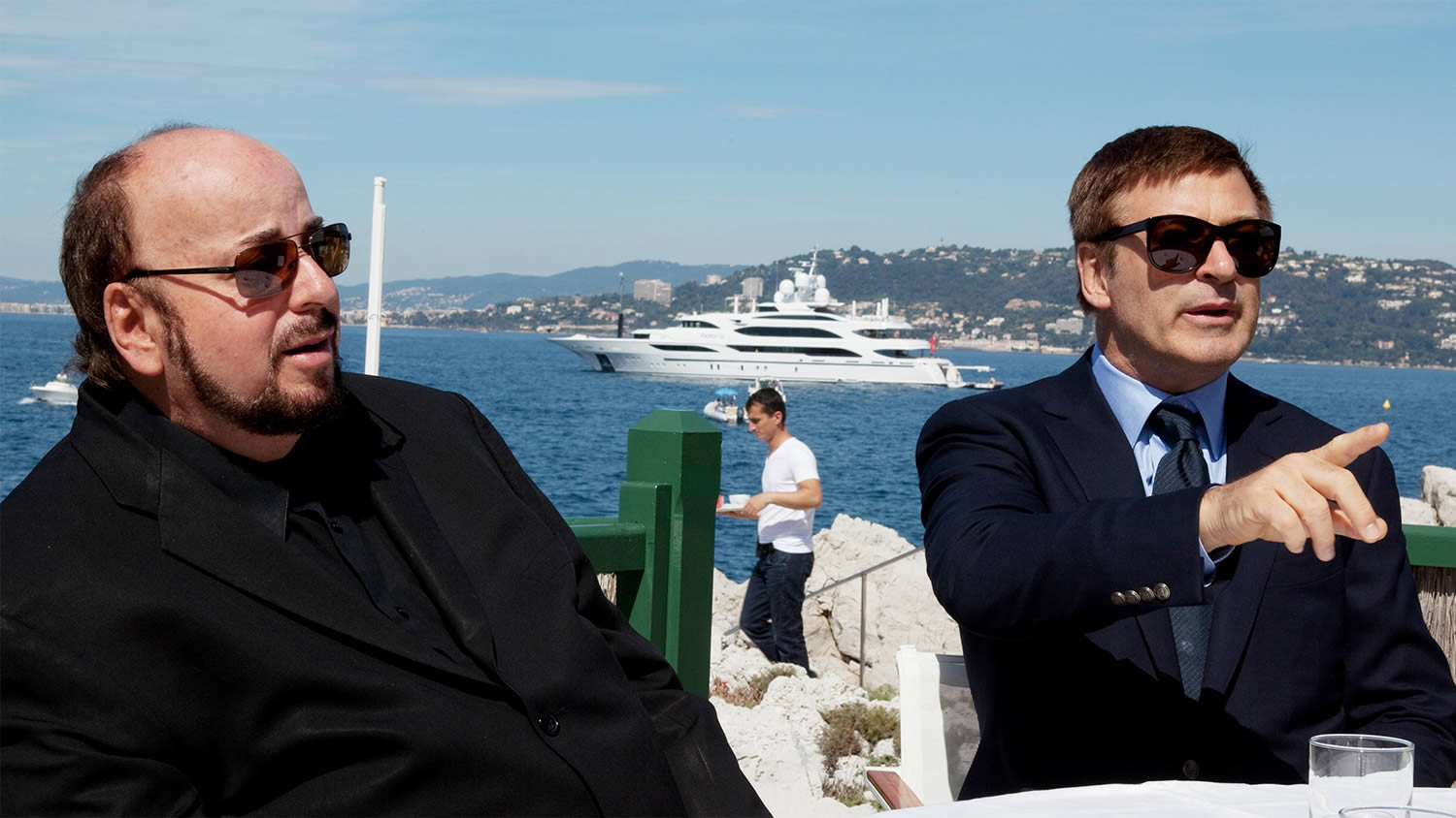 actors at cannes. seduced and abandoned documentary