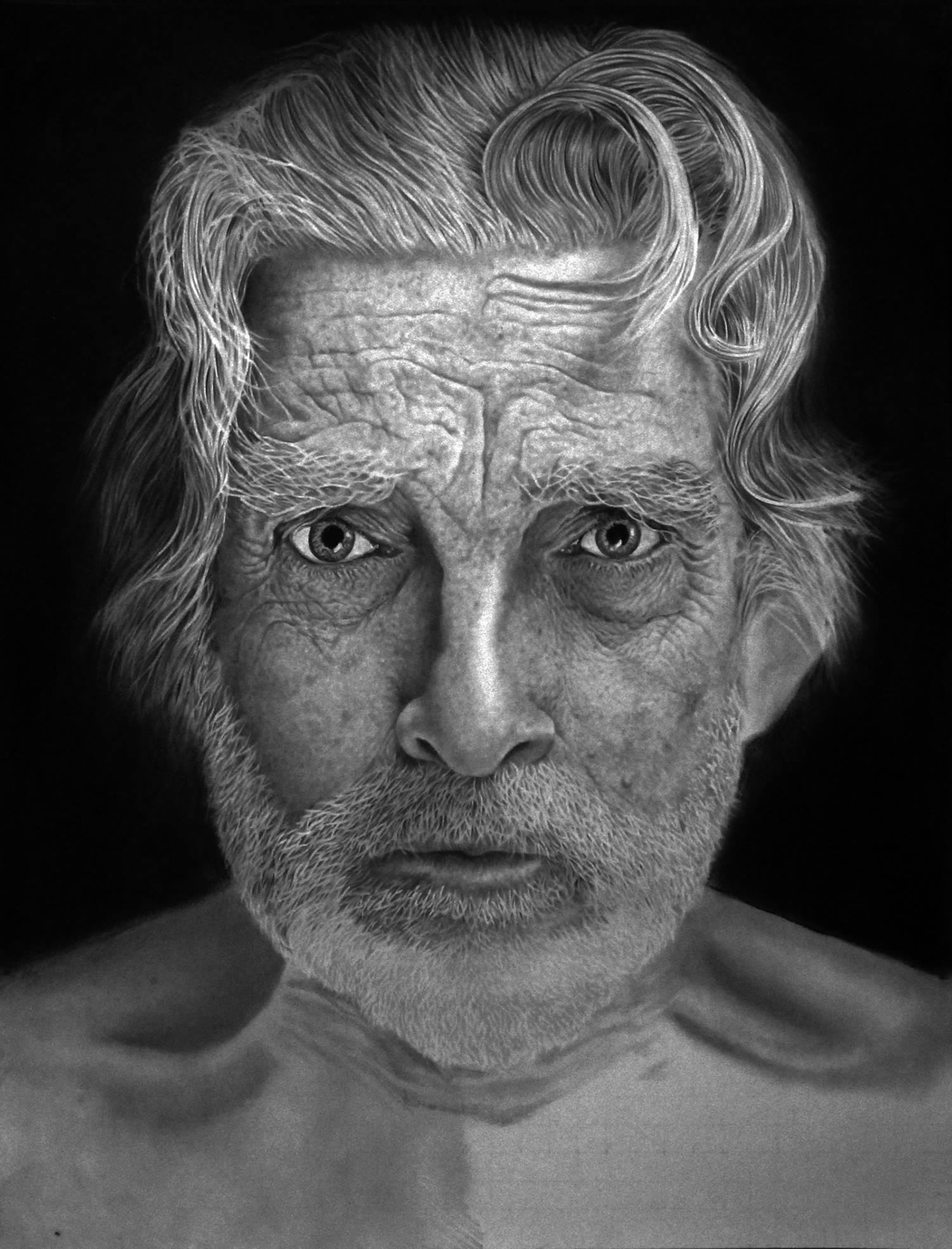 old man portrait by