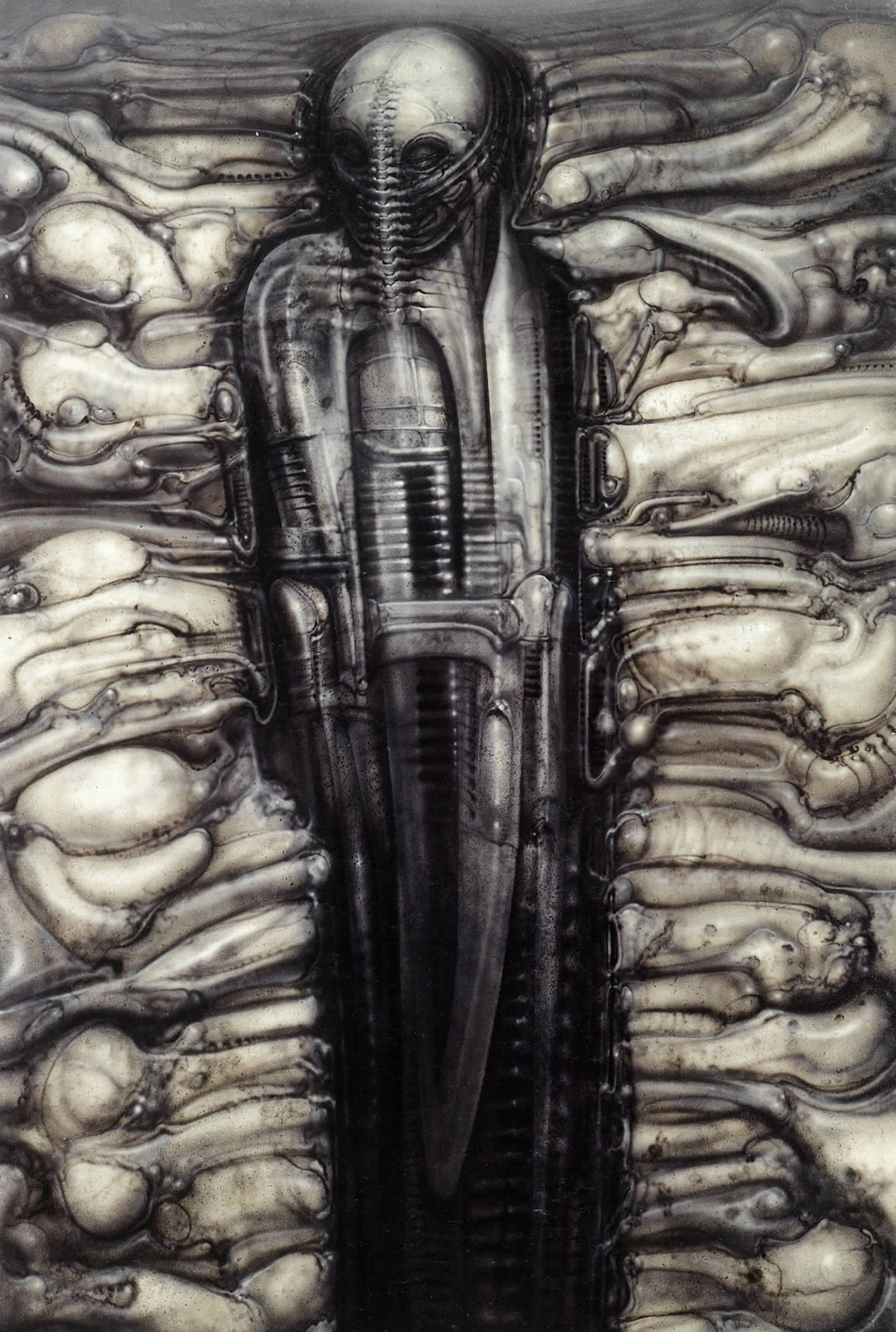 the hermit by hr giger, der eremit