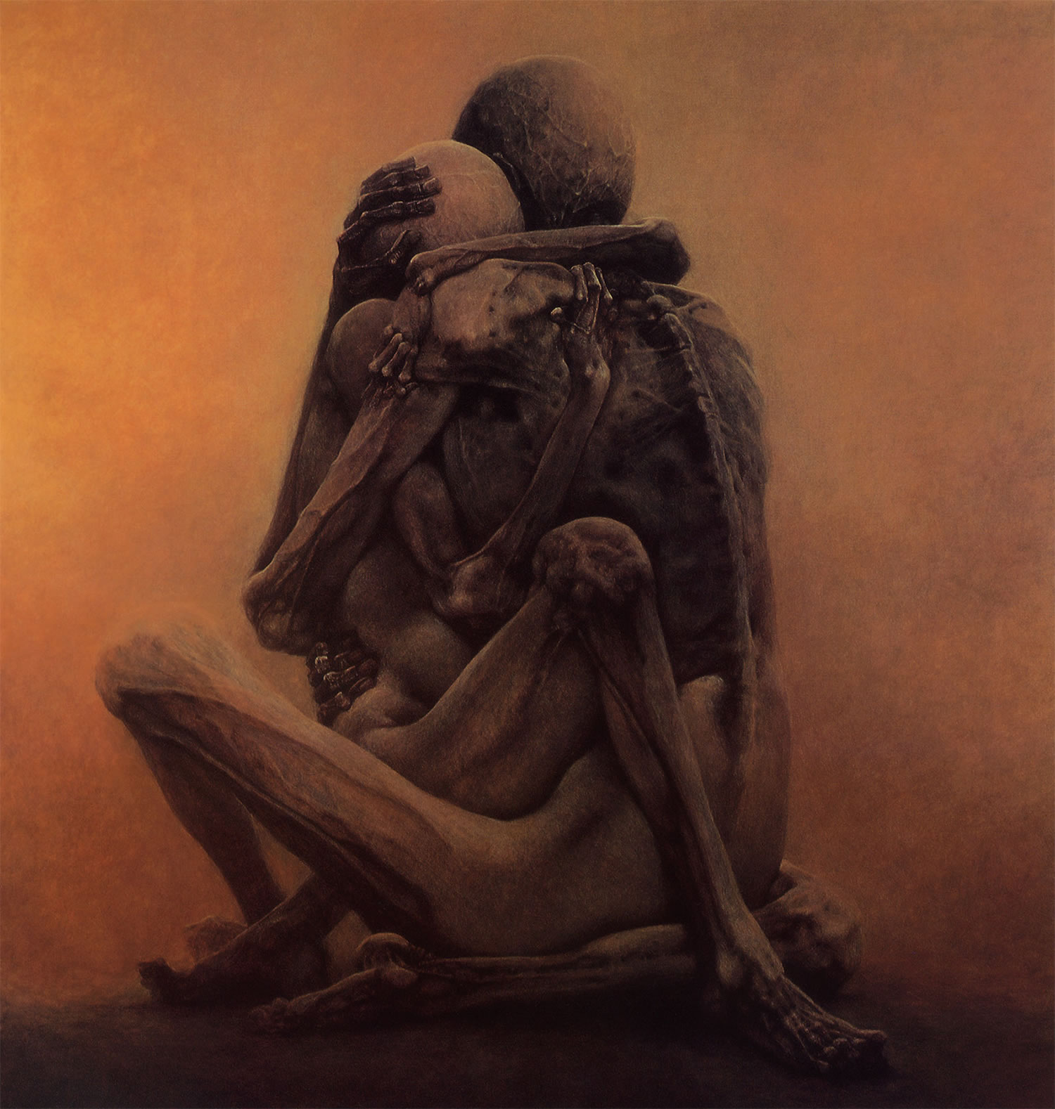 Untitled by Zdizslaw Beksinski