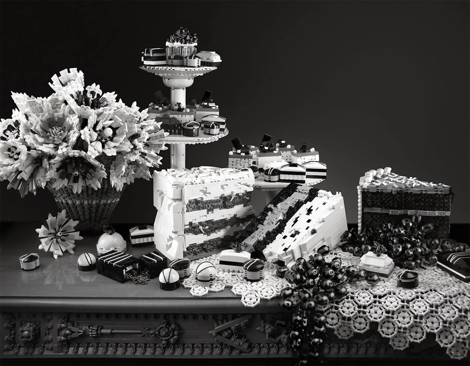 sickening sweet, lego of cakes by mike doyle