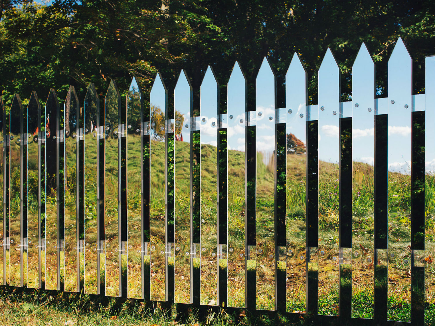 mirrors illusion fence alyson shotz