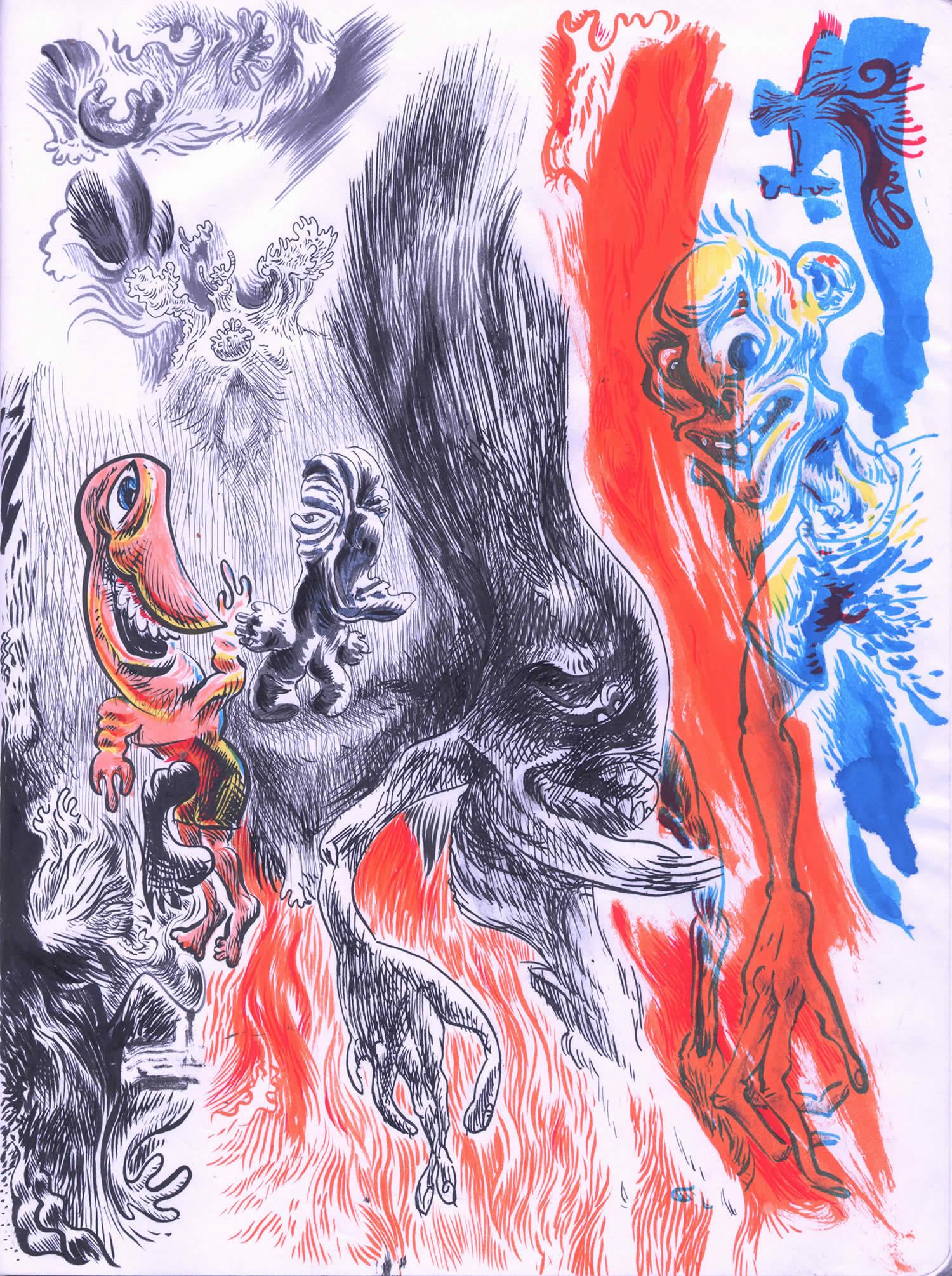 doodle 1 by monocat