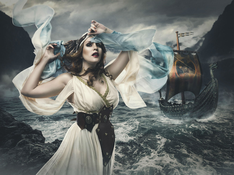 rebecca saray photography surreal Digital fantasy valykirye