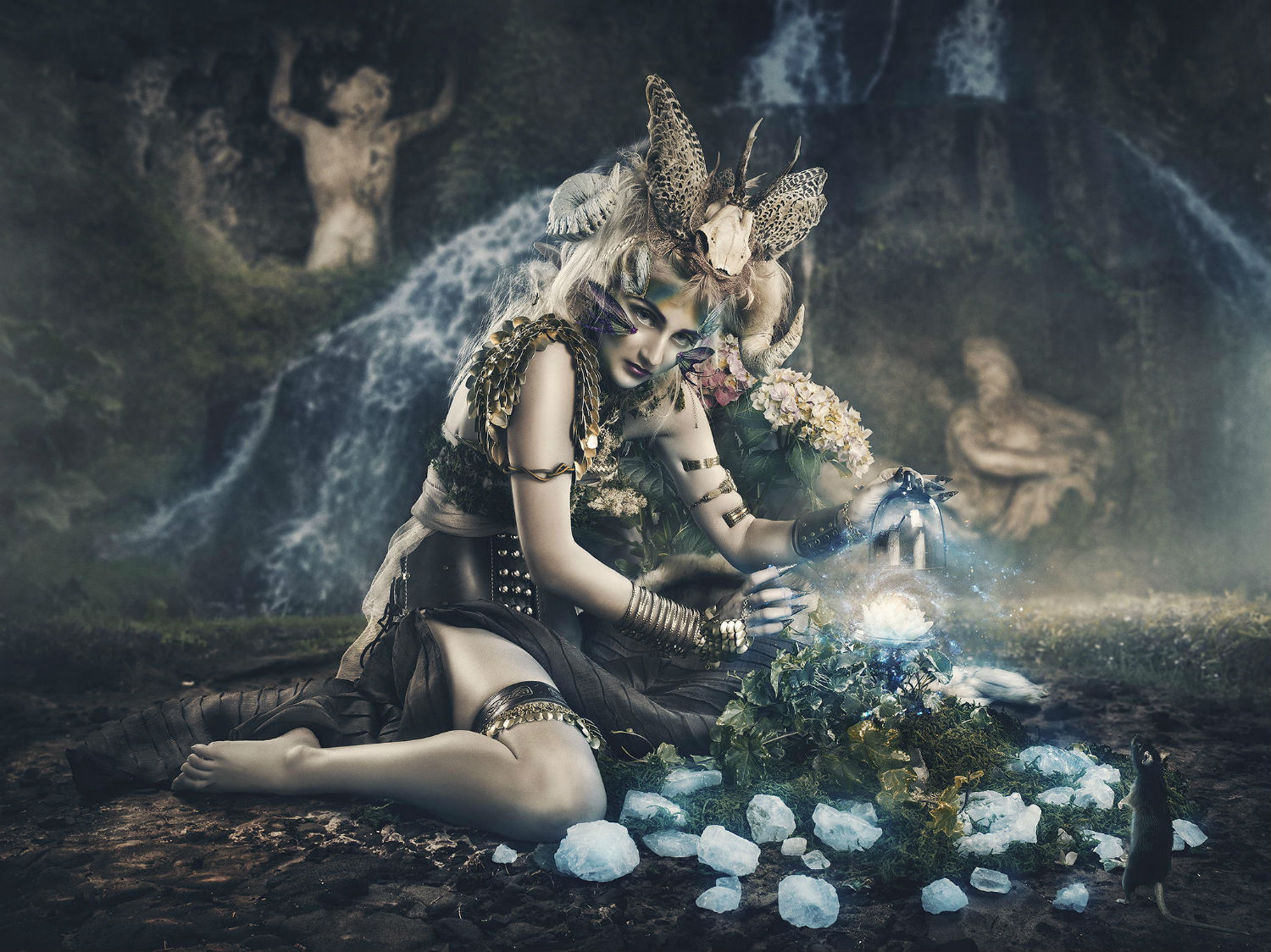 rebecca saray photography surreal Digital fantasy fairies