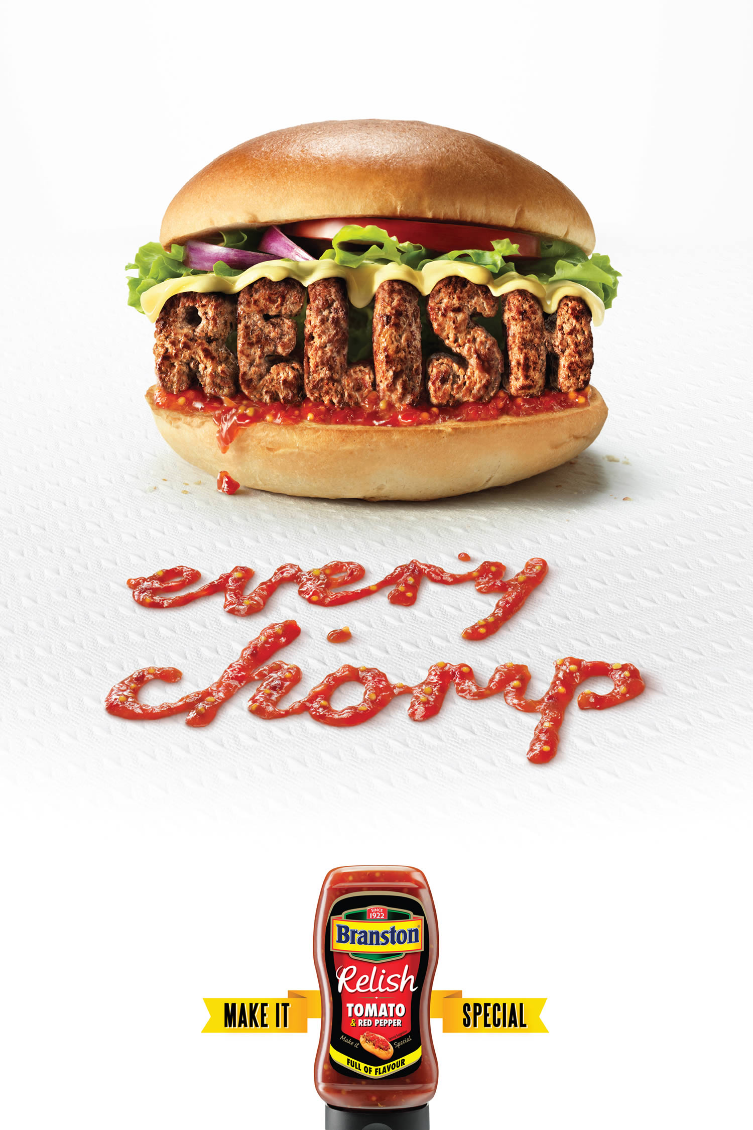 burger branston by sean freeman, typography