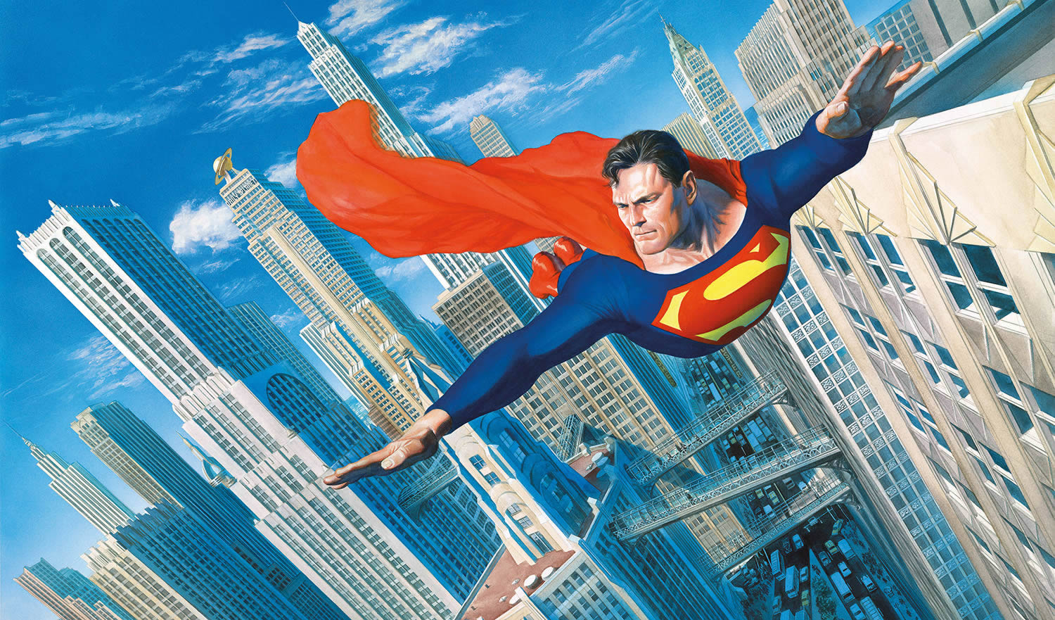 Look! Up in the Sky! Superman by alex ross