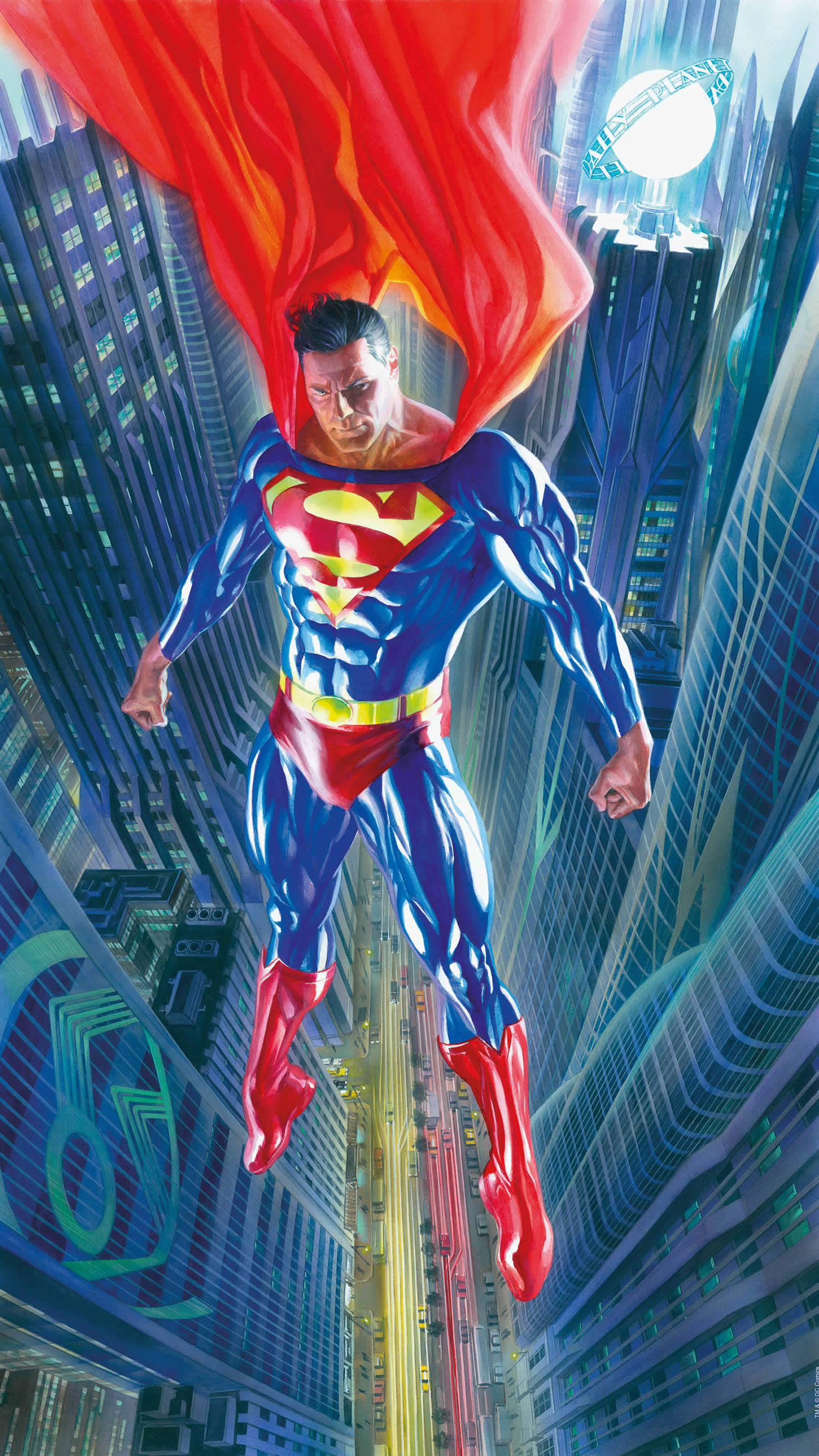 Alex Ross, Superman Forever Superman Forever The Alex Ross Collection £695.00 •Available Alex Ross, Descent On Gotham Descent on Gotham The Alex Ross Collection £695.00 •Low Availability Alex Ross, Look!