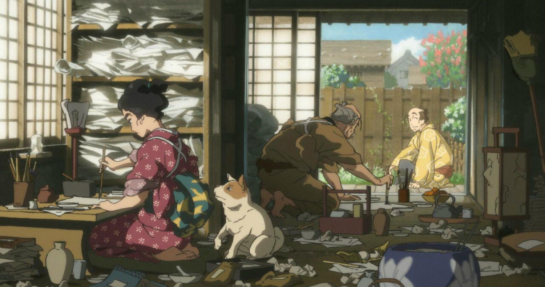Miss Hokusa anime painter