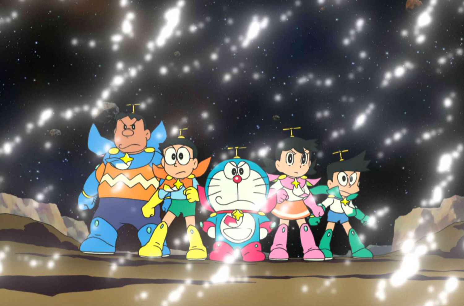 Doraemon: Nobita's Space Hero Record of Space Heroes