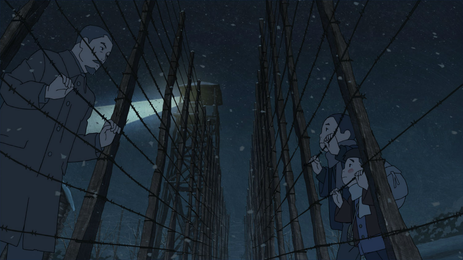 giovanni's island anime prison wire night