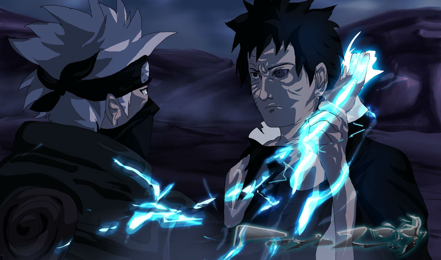 Naruto Movie Anime Lightning