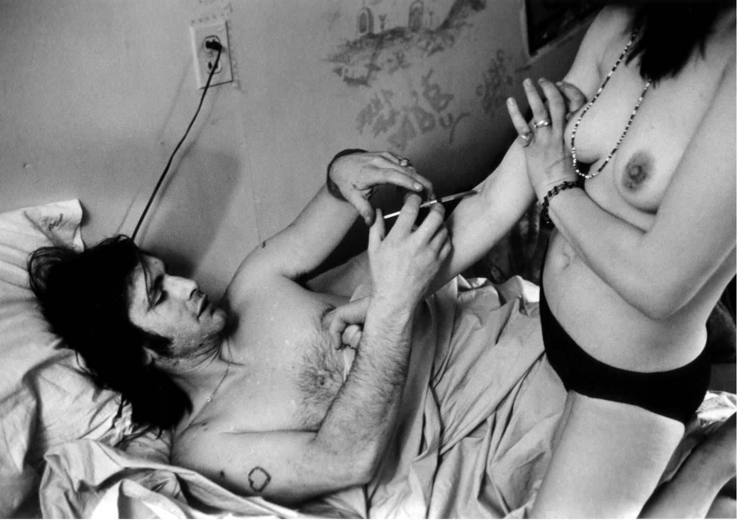 larry clark black white photography drugs youth
