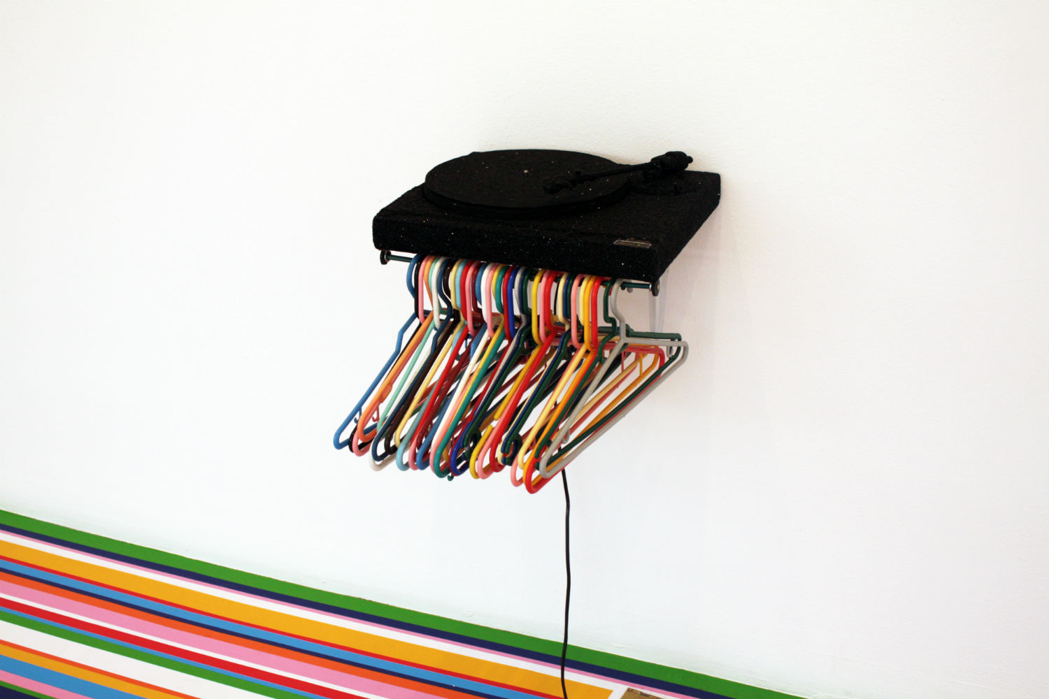 jim lambie fruitmarket multi colour hangers