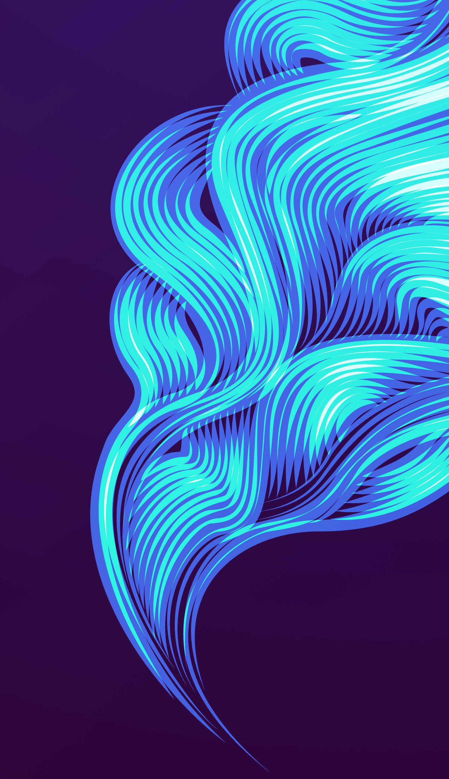 patrick seymour digital art electric colours smoke
