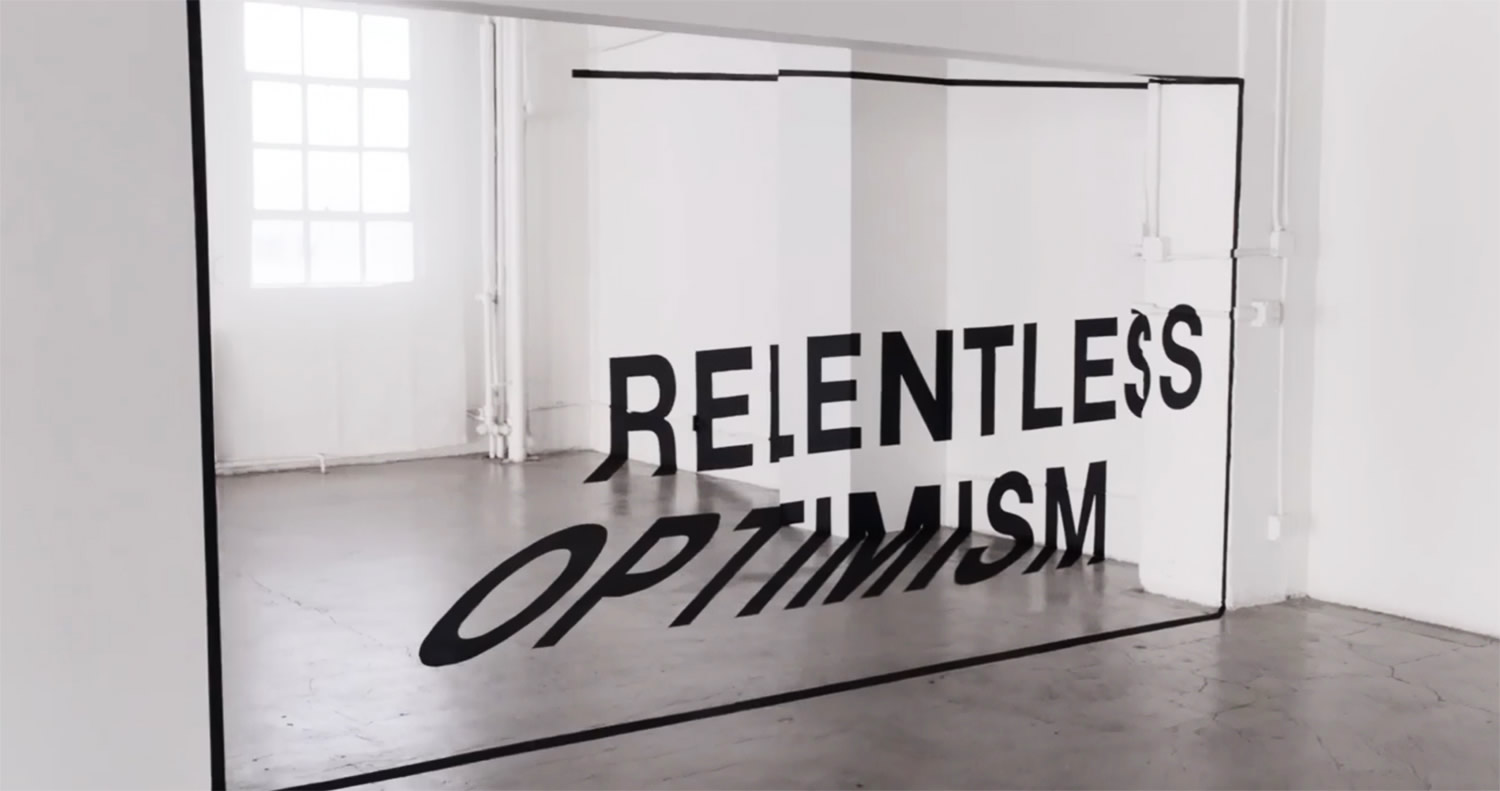 relentless optimism, apple perspective video