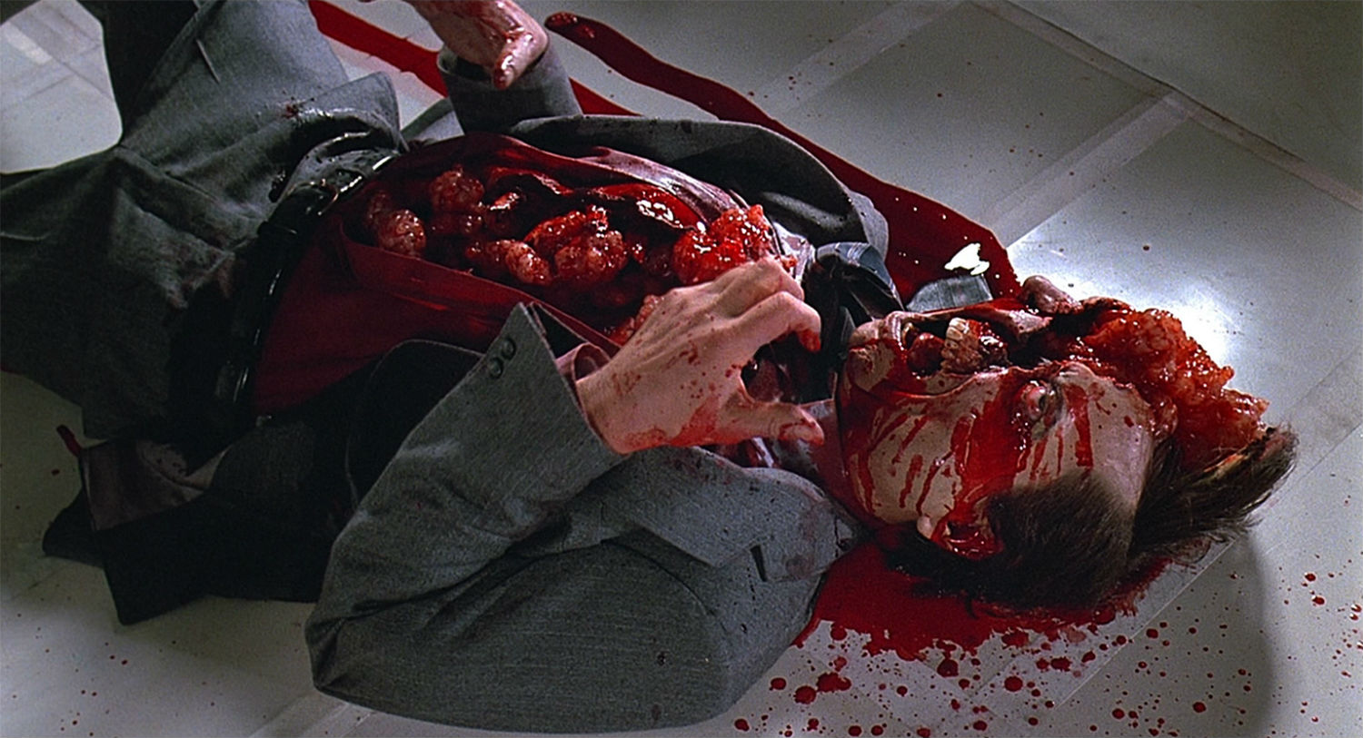 videodrome guts blood david cronenberg body horror cinema