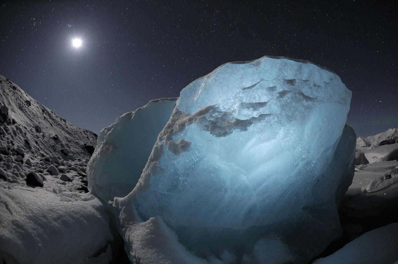 chasing ice documentary glacier night