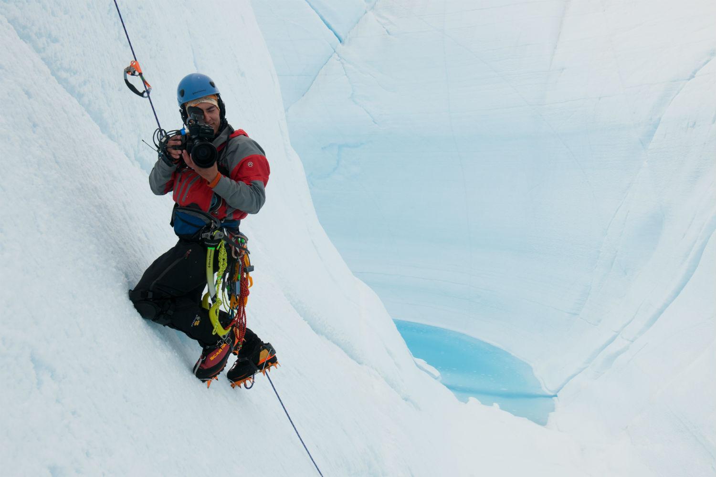 chasing ice glacier documentary still