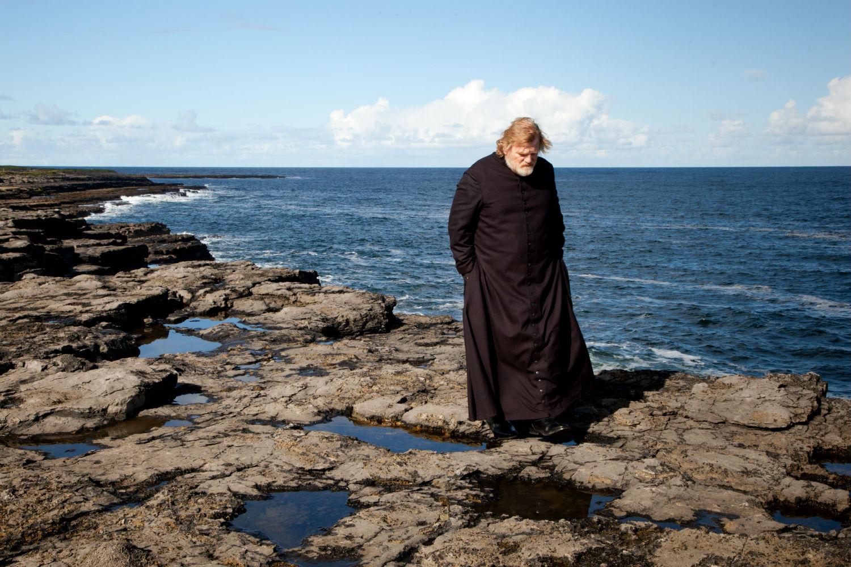 brendan gleeson calvary coast sea priest