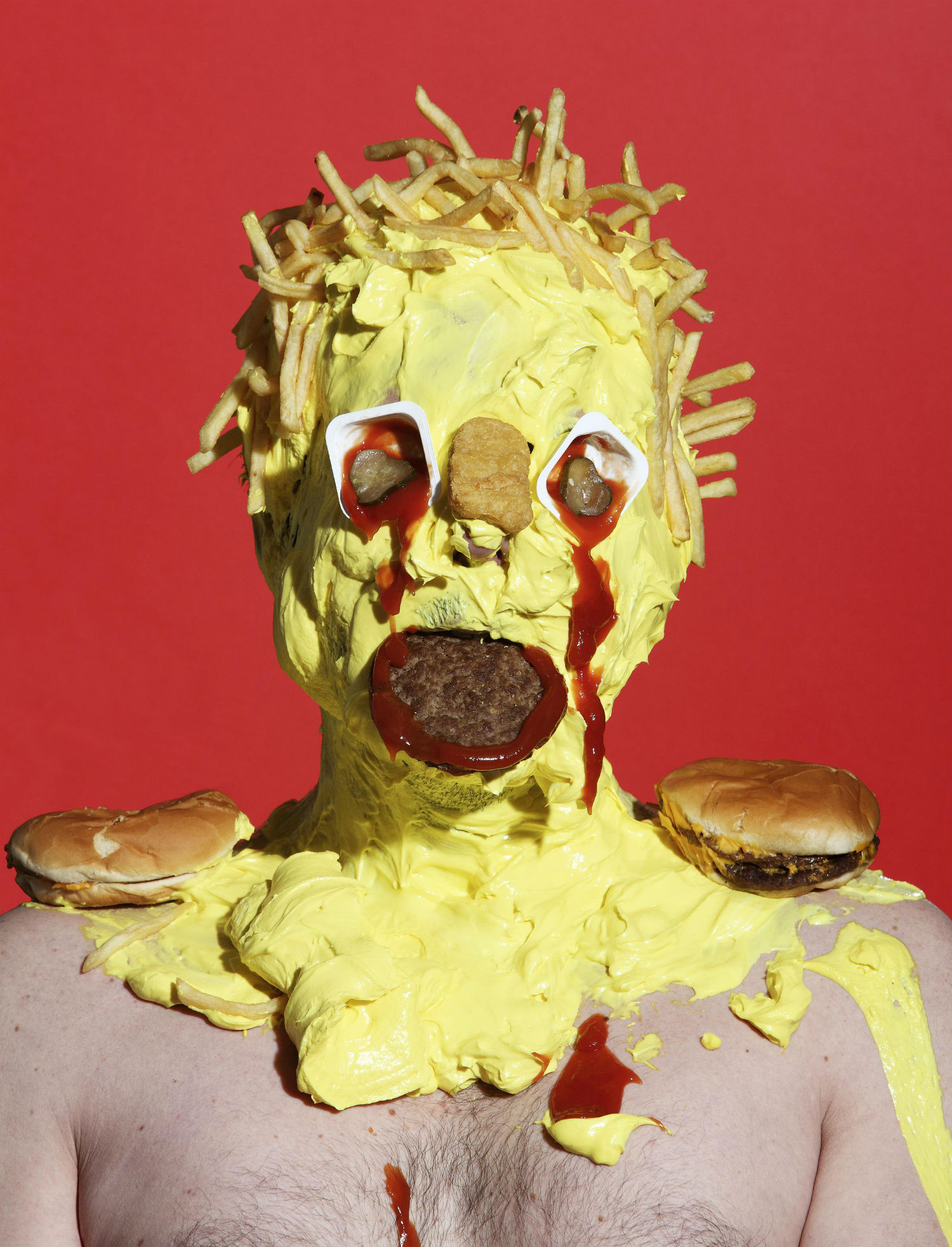 james ostrer photography junk food colour yellow surreal