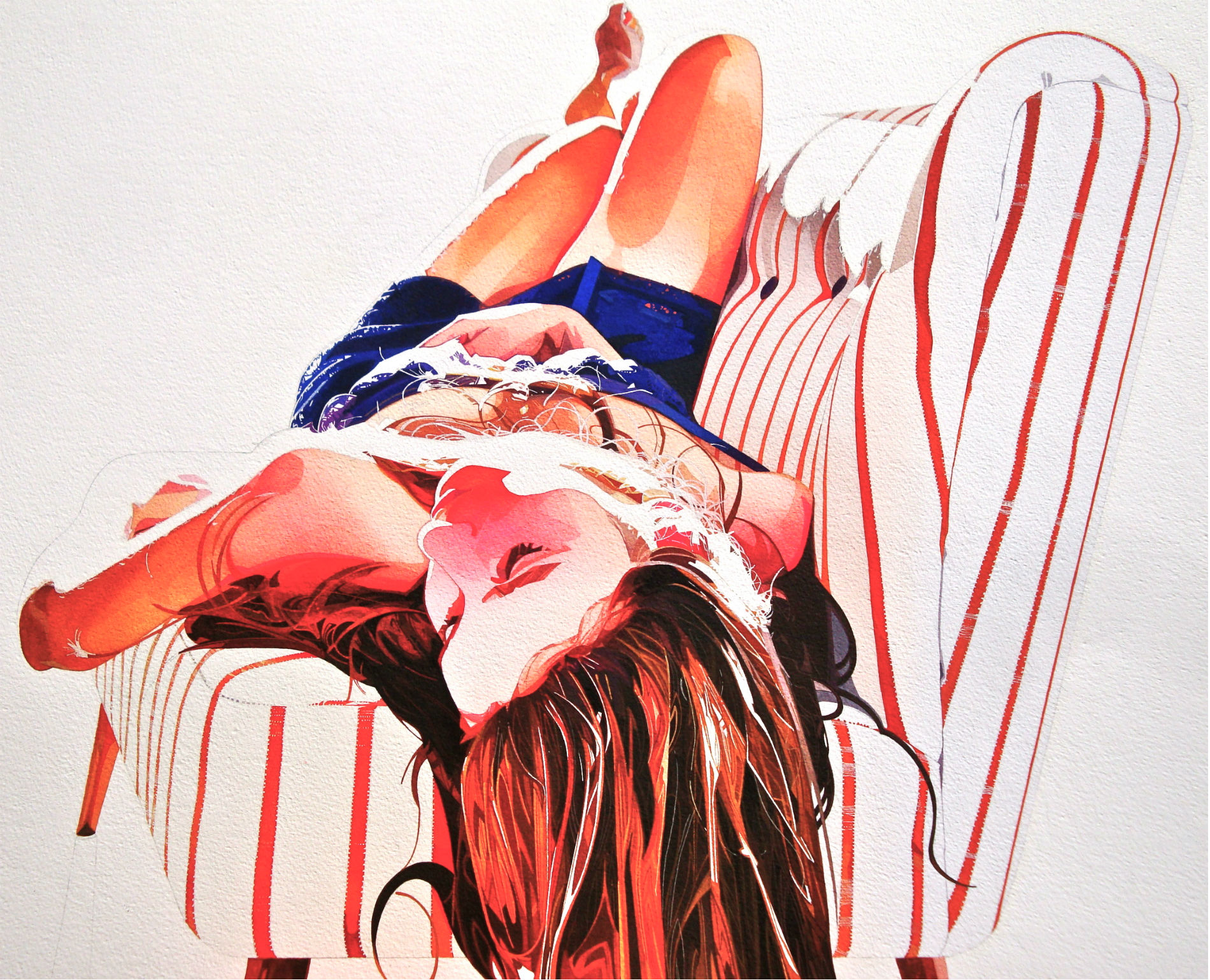 Light and Shadow in Erotic Watercolours