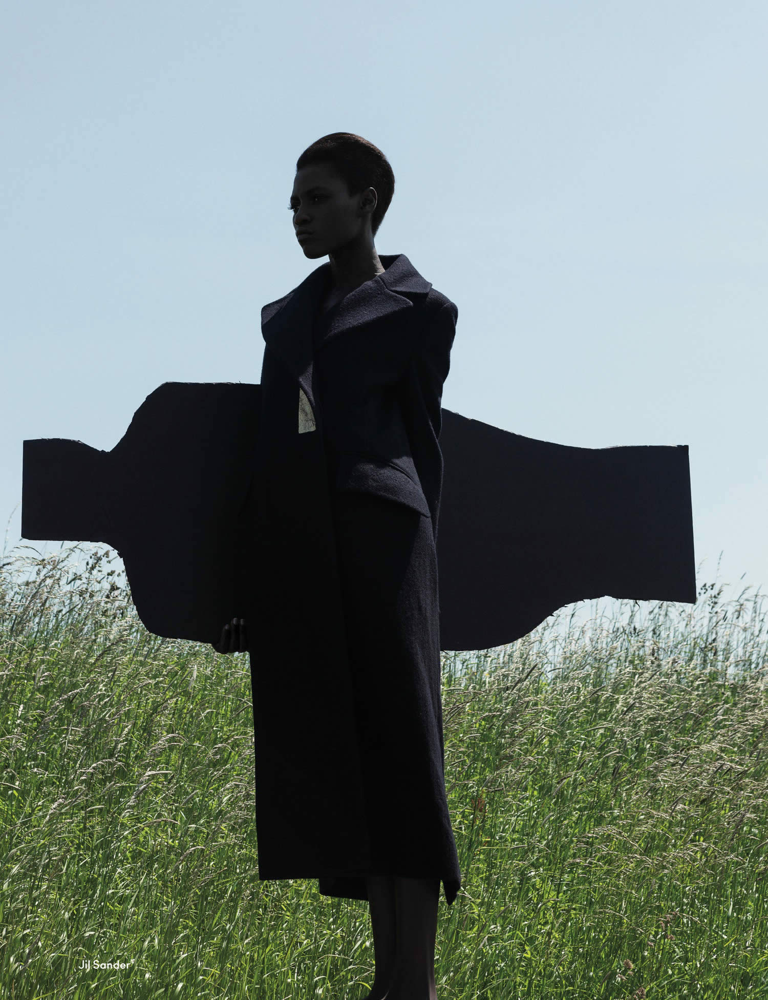 beautiful woman cross effect by viviane sassen