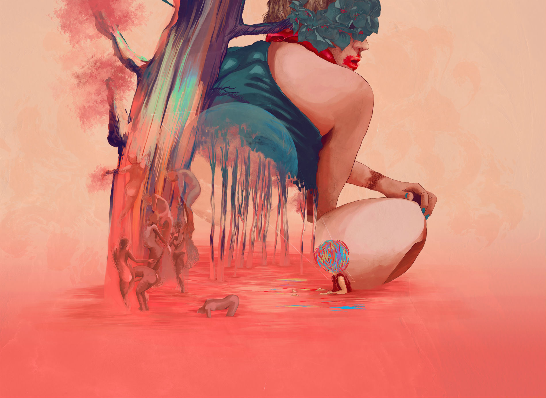 Magical Futuristic Illustrations by Colombian Artist
