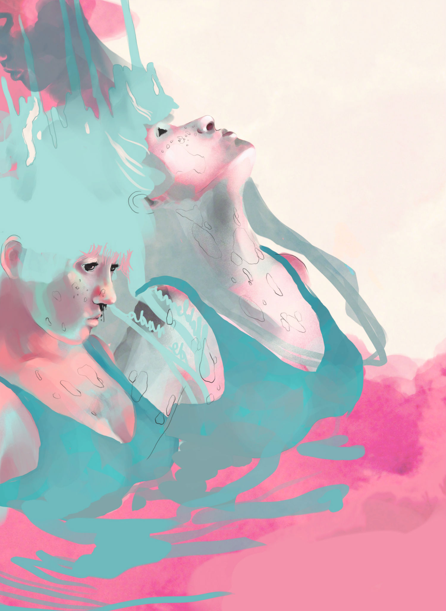 Carolina Rodriguez Fuenmayor illustration surreal colour dreamy