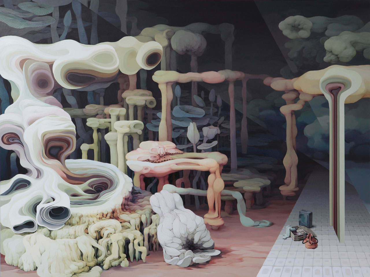 The Bizarre and Fleshy Dreamscapes of Jung-Yeon Min