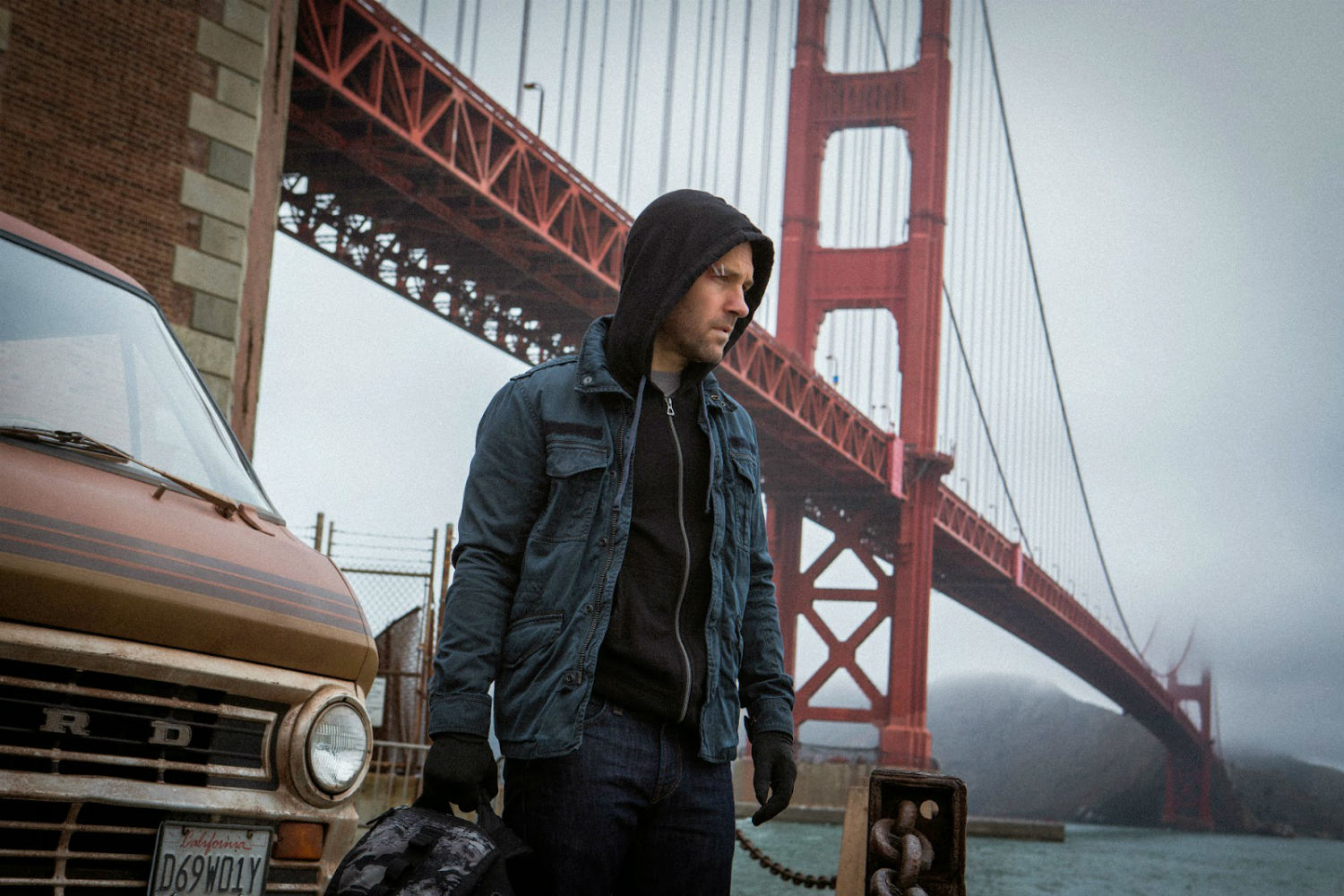 ant  man paul rudd golden gate bridge marvel